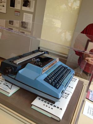 Kurt's typewriter