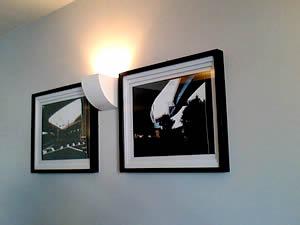 客室に飾られた写真