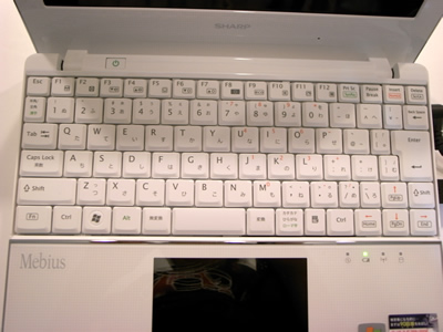 メビウスのキーボード