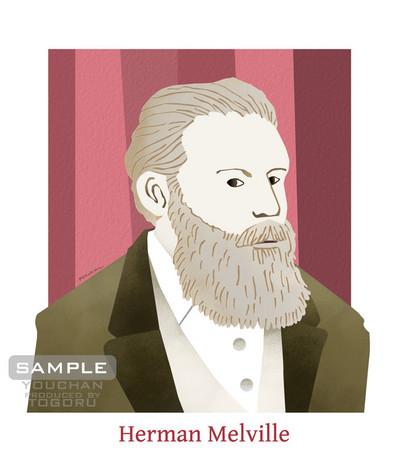 ハーマン・メルヴィル 肖像