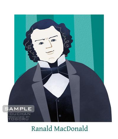 ラナルド・マクドナルド 肖像