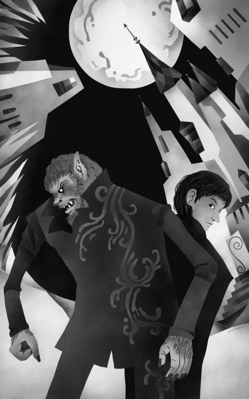 〈珈琲城のキネマと事件〉狼が殺した 扉絵