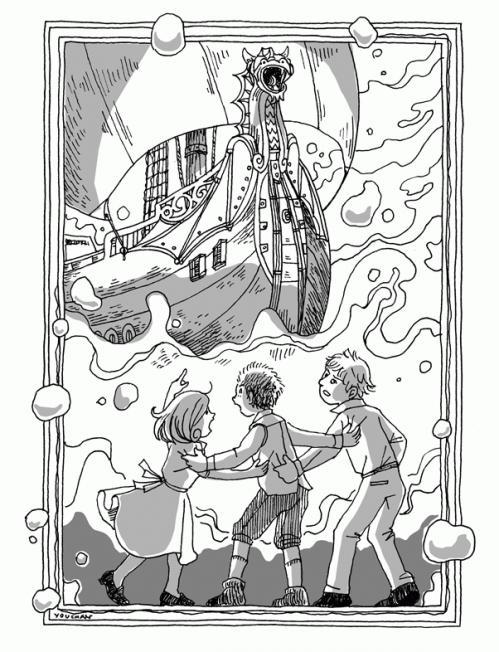 ドーントレッダー号の航海 挿絵