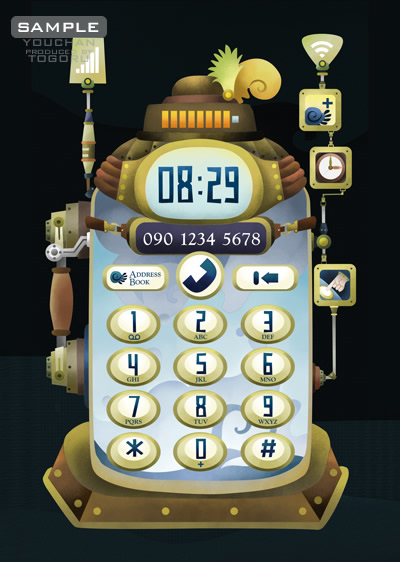 steamfone telephone