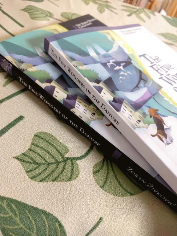Five Wonders of the Danube (ZZ Collection):Softcover(white) and Hardcover(black)