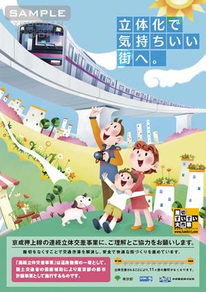 京成線ポスター